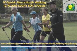 Suchy Bór Wydarzenie Bieg IV Opolski Marsz Nordic Walking